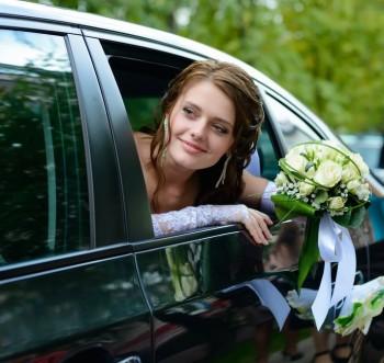 כלה מאושרת לקראת החתונה